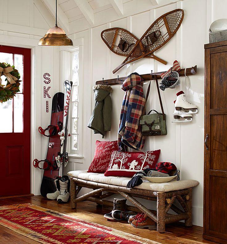 Pottery Barn Luxe/ski Lodge