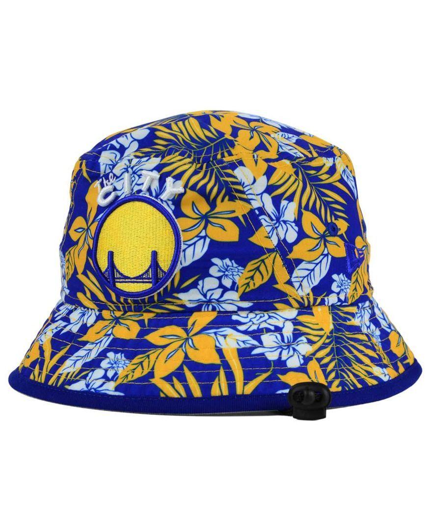 New Era Golden State Warriors Wowie Bucket Hat Sports Fan Shop By Lids Men Macy S Golden State Warriors Bucket Hat New Era