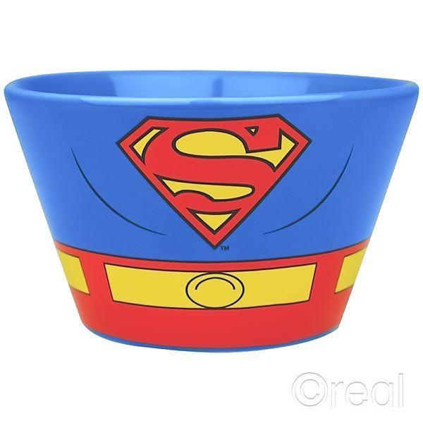 £9.89 GBP - Dc Comics Superman Costume Bowl Ceramic Stoneware Cereal  Breakfast Official  ebay 3285fb071e5