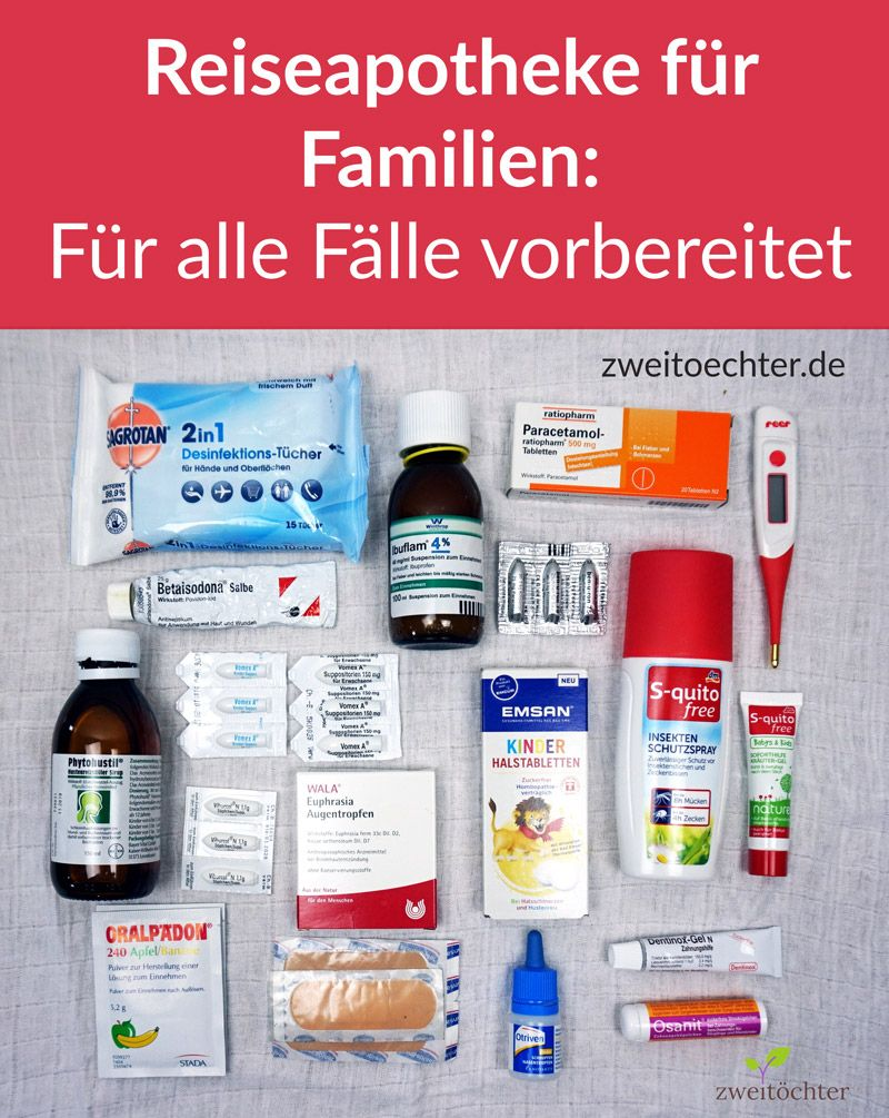 Photo of First aid kit for families