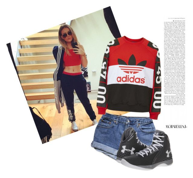 """""""Untitled #59"""" by ajla3788 ❤ liked on Polyvore featuring Topshop and Under Armour"""