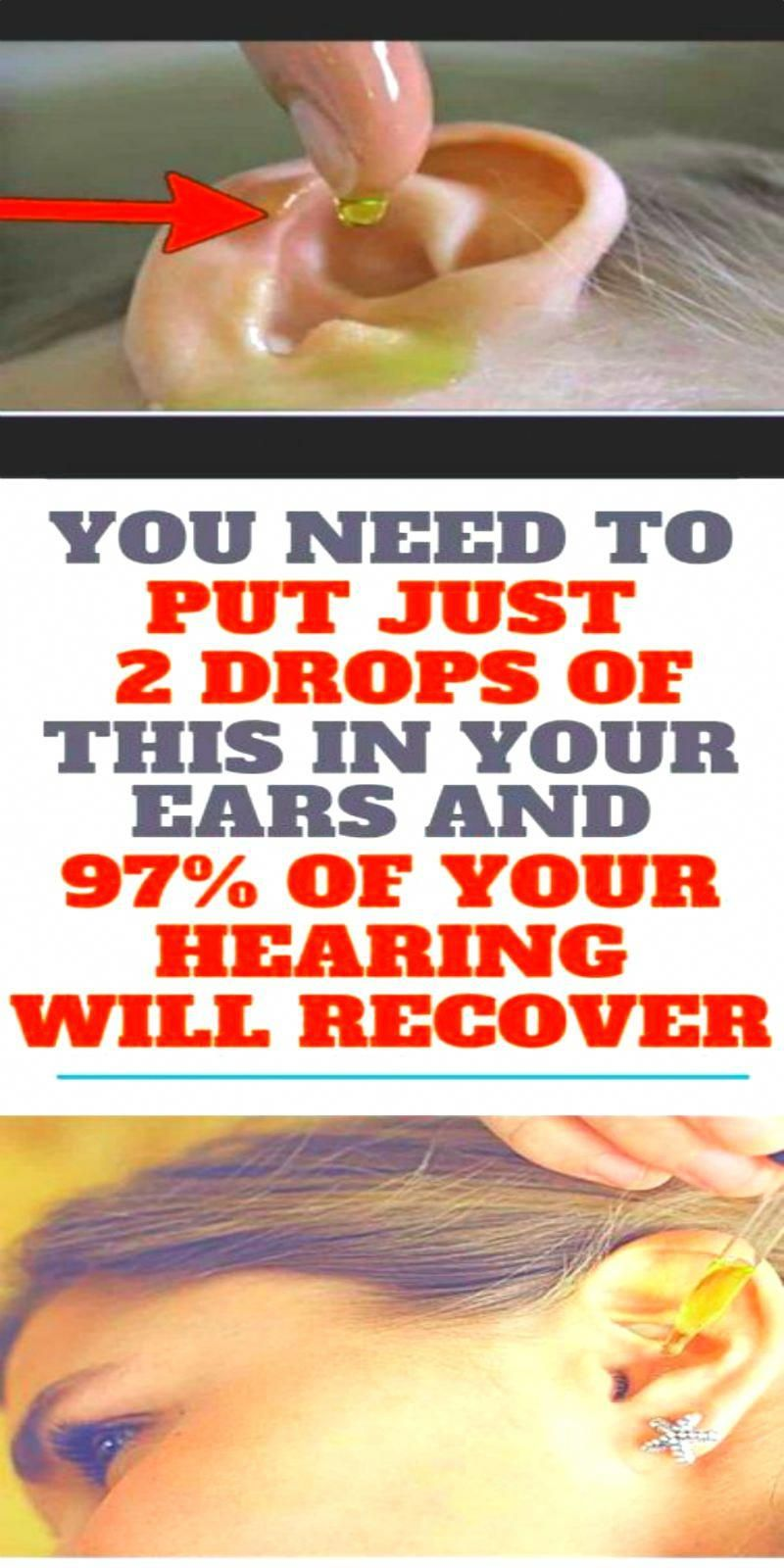 You Might Also Like  ? UNCATEGORIZED 2 DROPS OF THIS IN YOUR EARS AND 97% OF YOUR HEARING RECOVERS!...