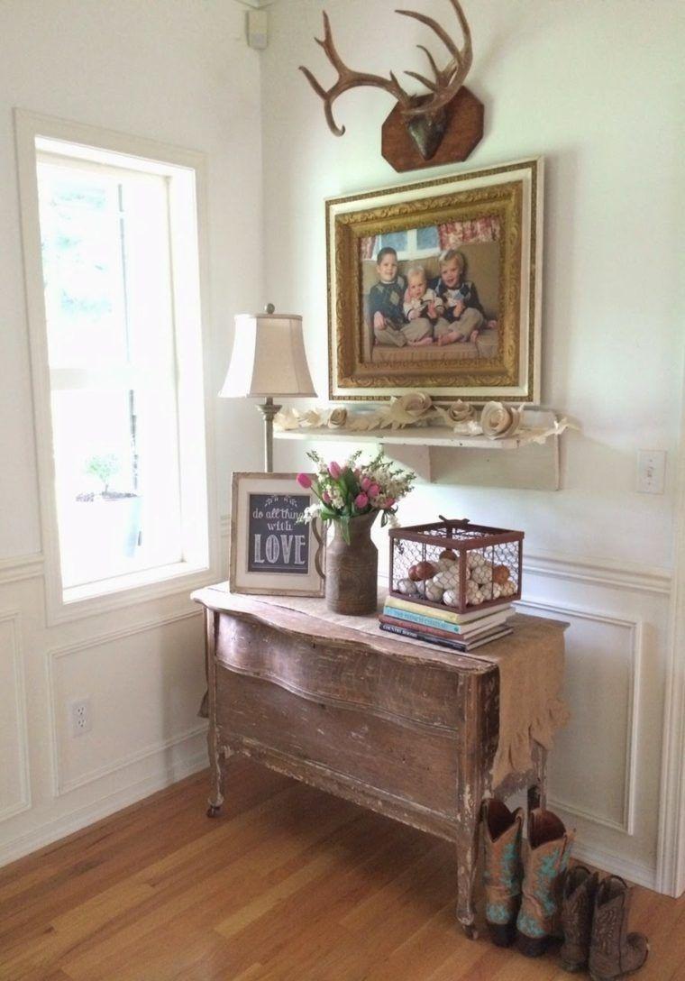d co entr e appartement et maison de style campagne chic meuble pour entr e style rustique et. Black Bedroom Furniture Sets. Home Design Ideas