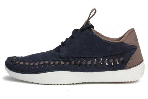 Amante transacción Canal  Nike Mens Solarsoft Moccasin Premium Woven Obsidian 555345-442: Shoes |  Shoes, Oxford shoes, Beach shoes
