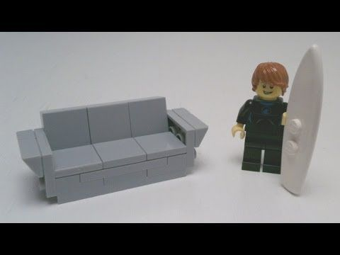 Tutorial Lego Modern Sofa Cc Lego Furniture Lego Modern Sofa