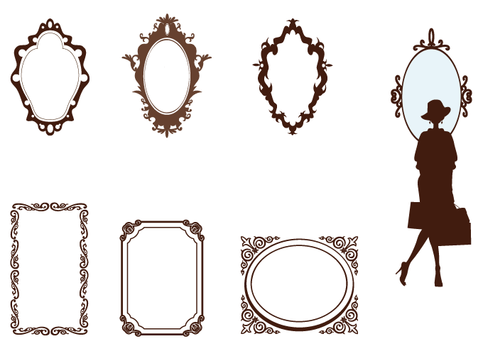 Free Vector Vintage Frames