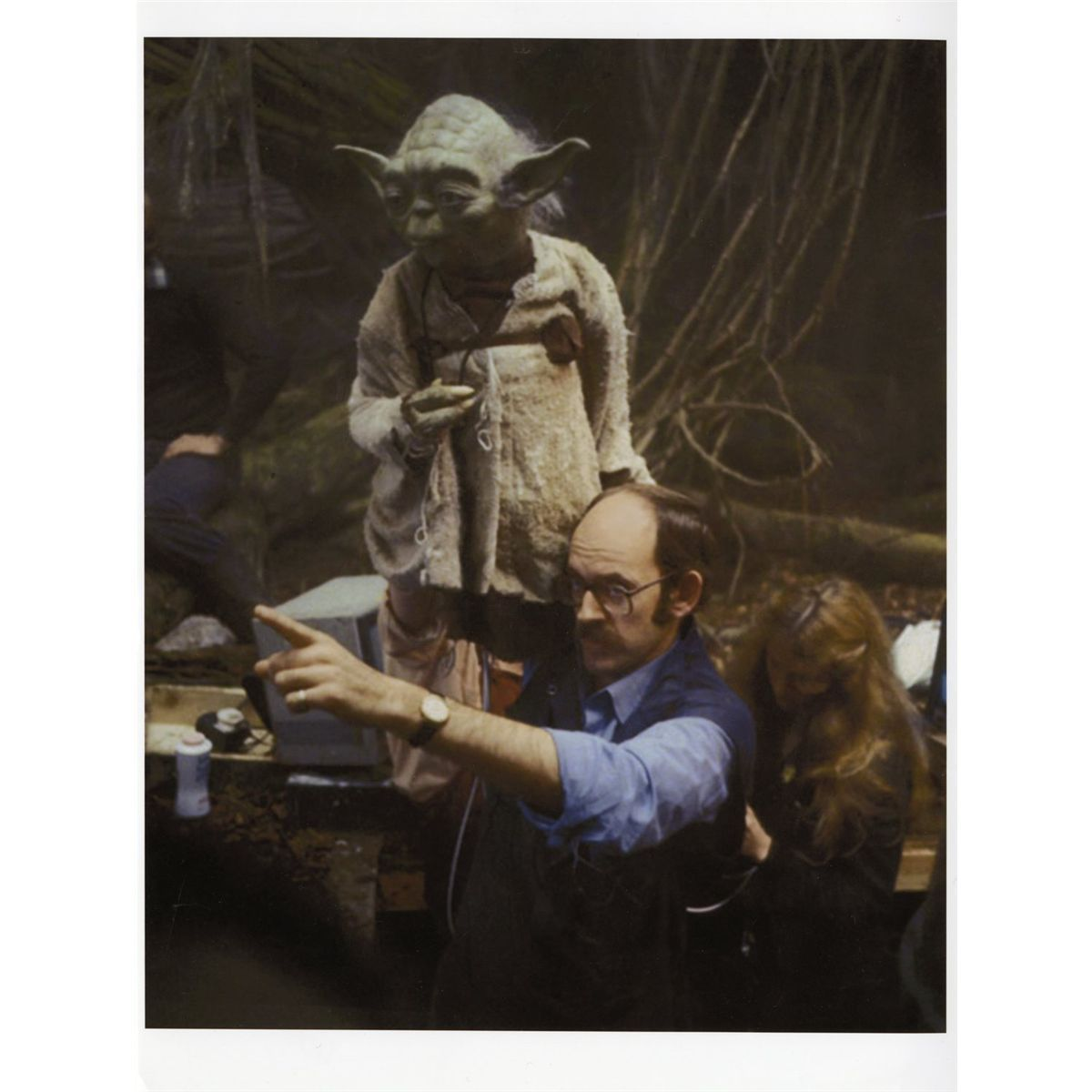 Yoda On Set Rehearsal Puppet From Star Wars Episode V The Empire Strikes Back In 2021 Star Wars Episodes Star Wars Episode Iv Star Wars Art