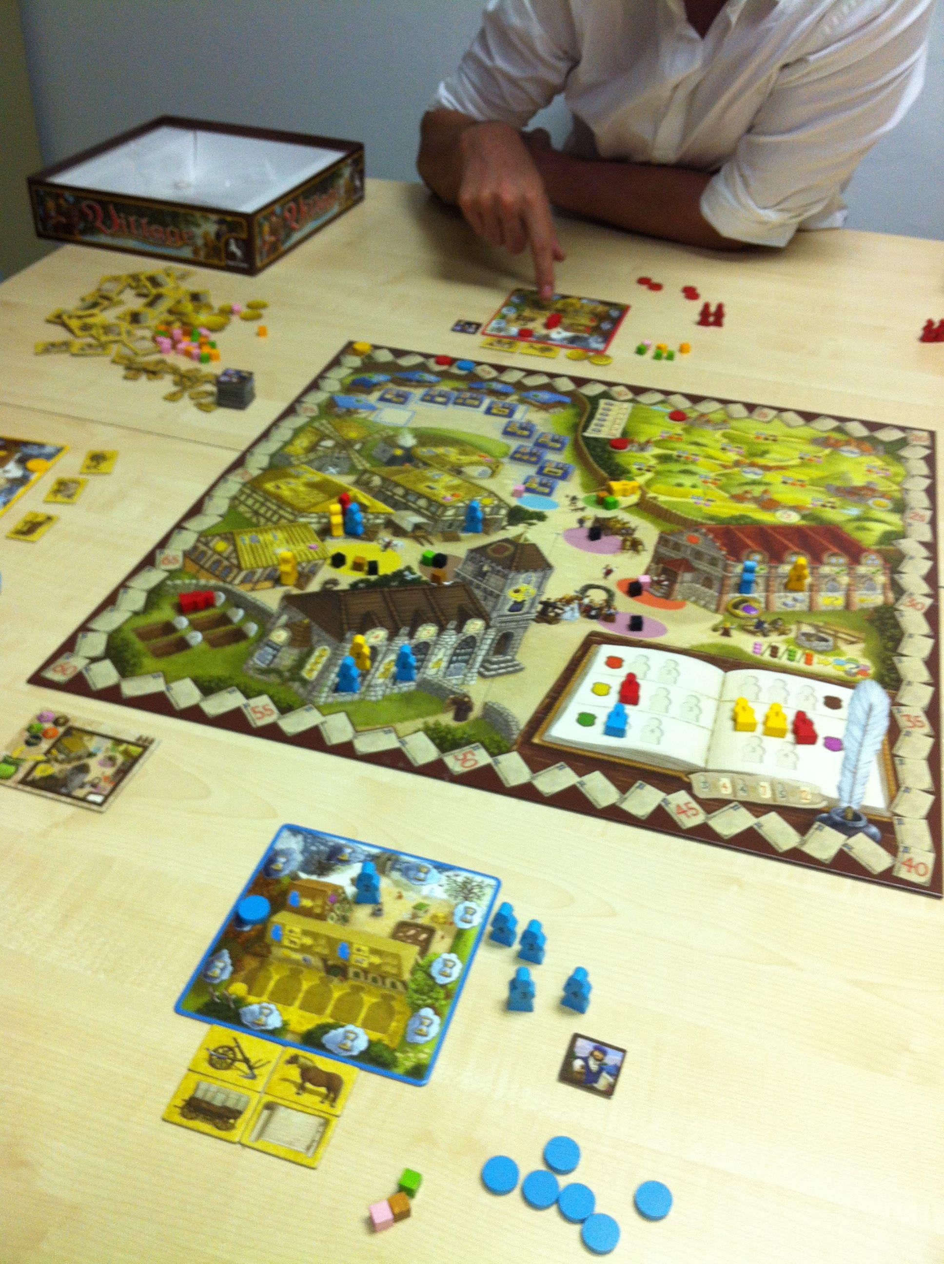 Great Game Of Village The Spiel Des Jahres Winner Games Board Games Play