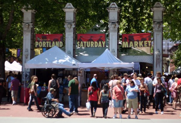 Portland Saturday Market Portland Oregon Places I
