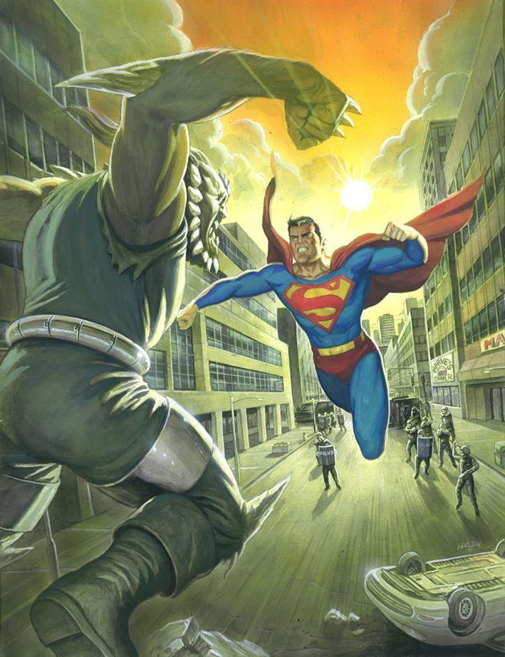 Superman Vs Doomsday By Habjan81 On Deviantart Superman Art Superman Doomsday