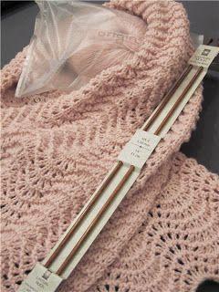 Tuto echarpe en cachemire origin point de vague aiguille - Point tricot fantaisie pour echarpe ...
