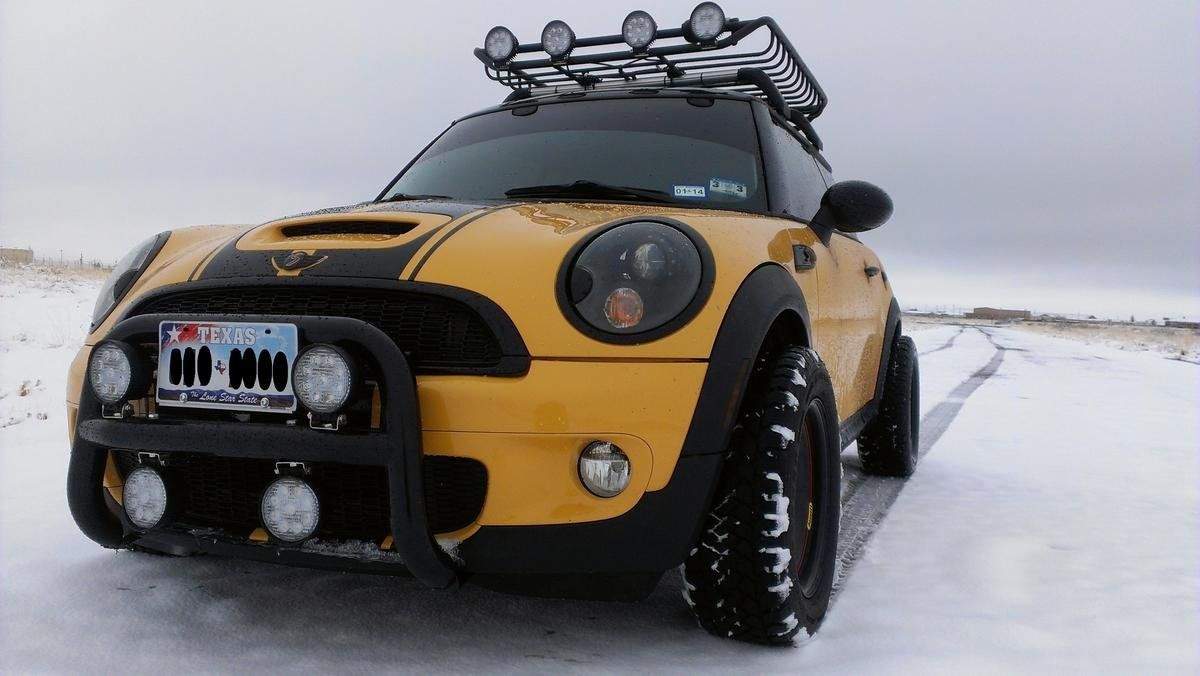 Off Road R56 Mini Cooper With A Lift Kit North American Motoring