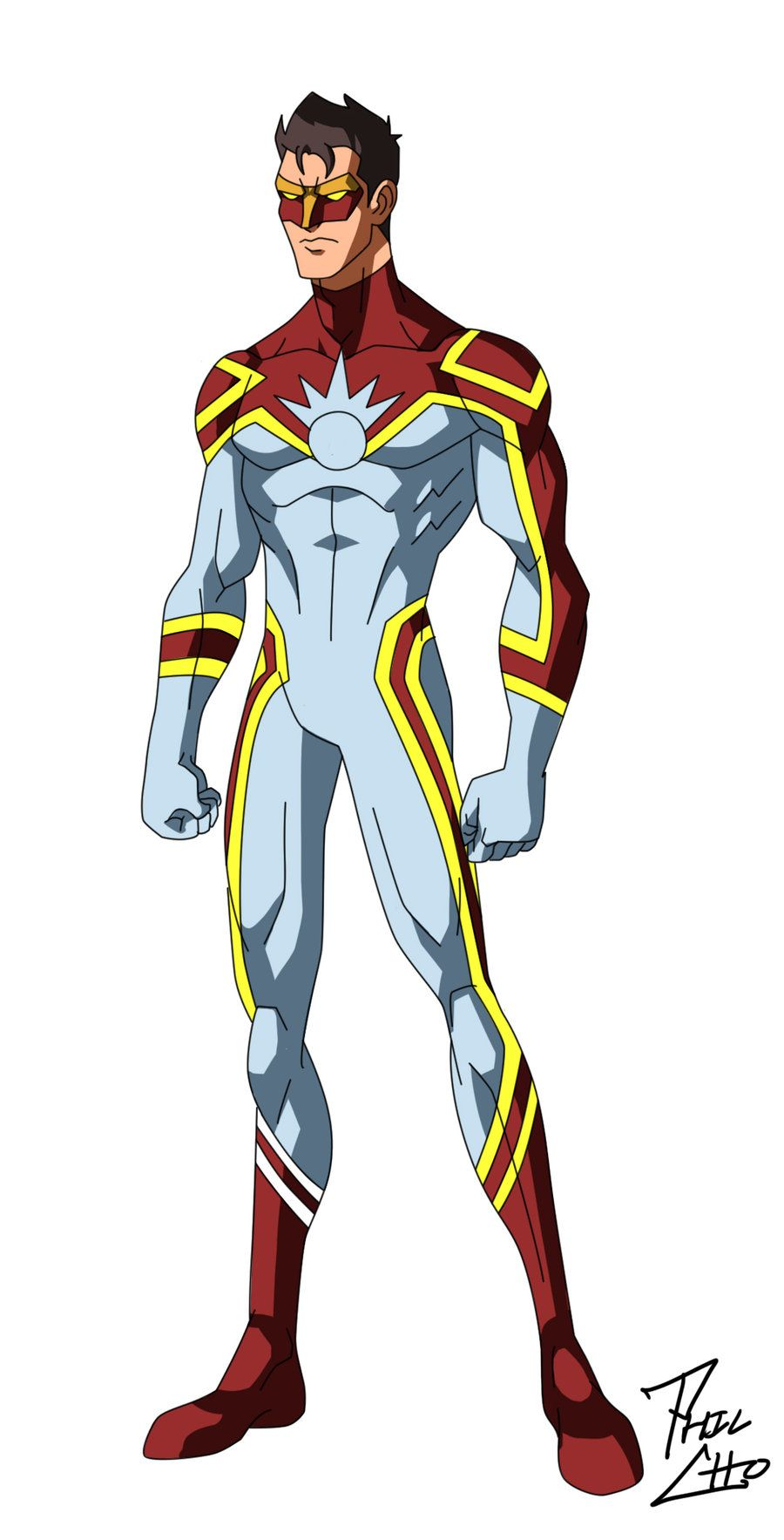 Flashpoint - Oc Commission Phil-cho Deviantart Rise Of Heroes Superhero Characters