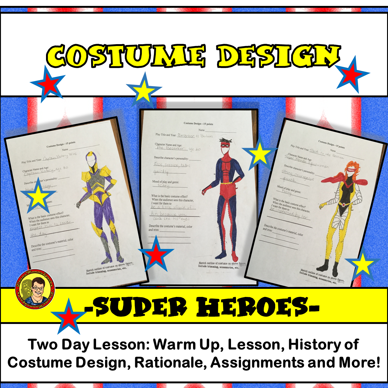 What Can Super Heroes Teach Your Students Why Are There