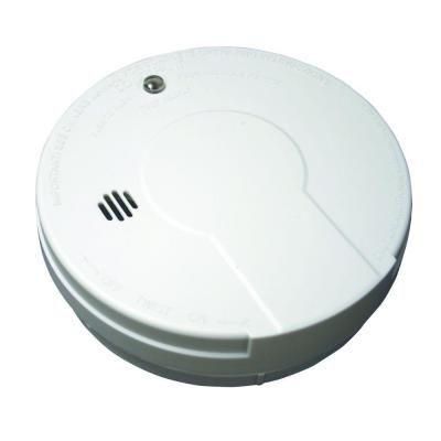 Kidde Battery Operated Smoke Detector With Photoelectic Sensor 21008063 The Home Depot Smoke Alarms Battery Operated Smoke Detector
