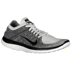 cheap for discount b10f1 a9903 Nike Free 4.0 Flyknit - Men s - Pure Platinum Midnight Fog Light  Charcoal Black