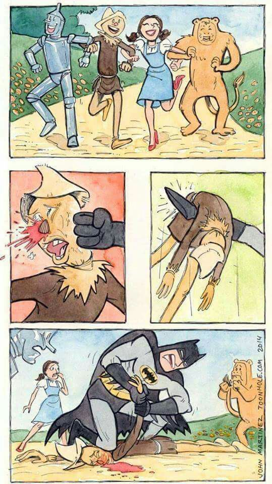 Batman catches up with Scarecrow