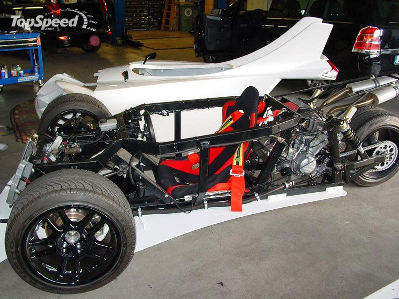Video Marotti Reverse Trike Concept From The Sky Gallery 311460