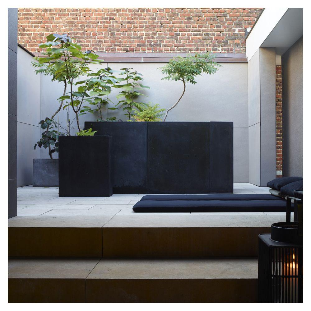 Glenn Sestig - Town House Sestig [Belgium, 2010] | atrium, patio ...