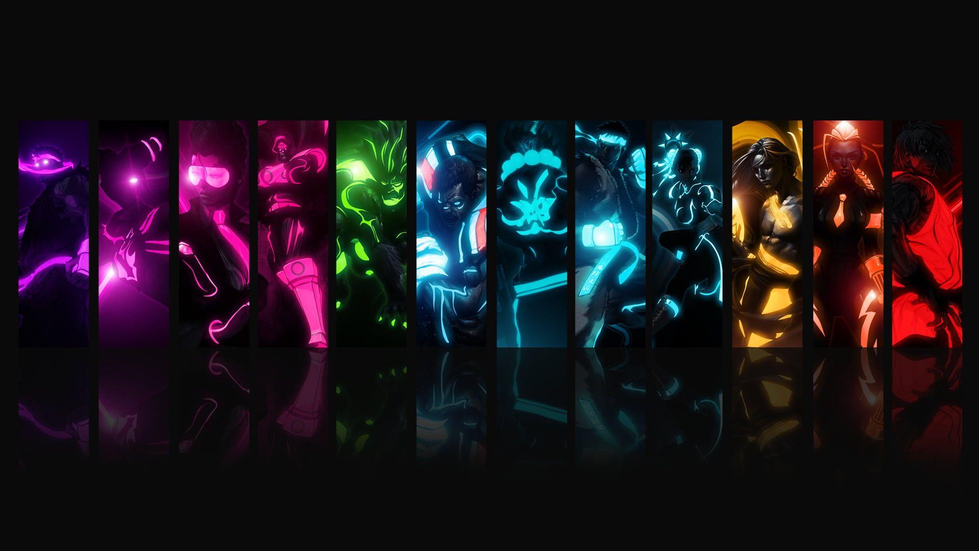 Street Fighter Video Games Collage 1080p Wallpaper Hdwallpaper Desktop In 2020 Backgrounds Desktop Cool Anime Wallpapers Gaming Desktop Backgrounds