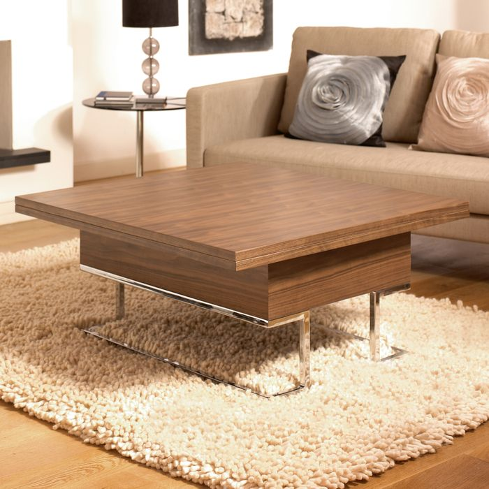 Convertible Coffee Table Walnut For The Home Coffee