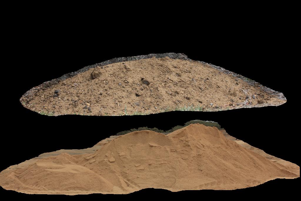 Dirt pile clipart