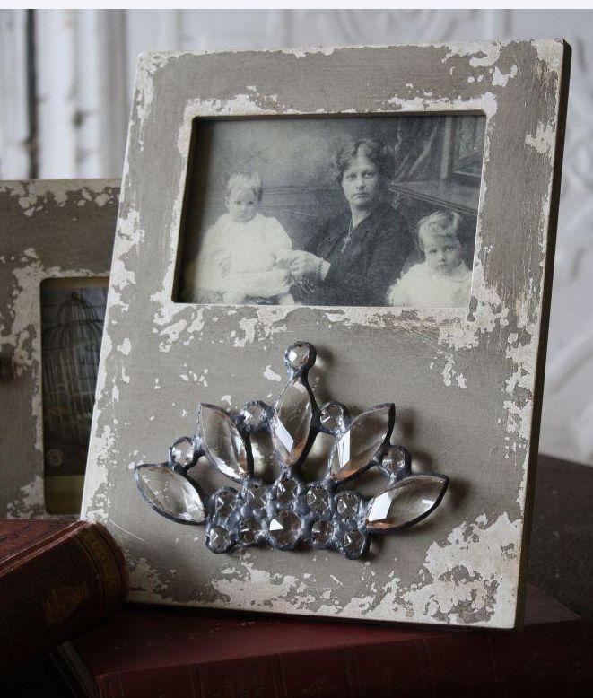 Crystal Crown 8x10 Wood Photo Frame 32 Cadres Et