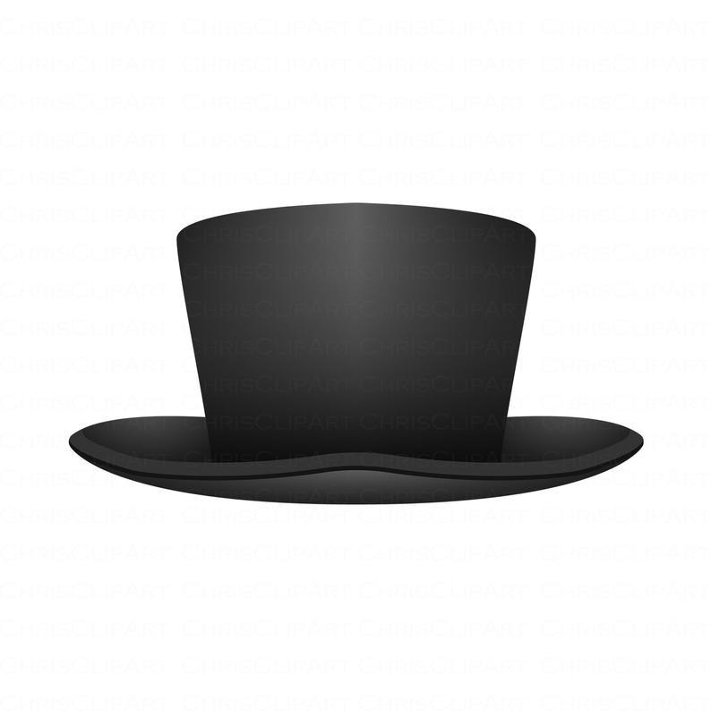 Svg Top Hat Clipart Top Hat Png Hat Svg Hat Vector Hat Graphic Top Hat Hat Vector Clip Art
