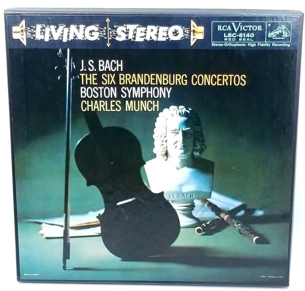 Vintage J S Bach The Six Brandenburg Concertos 3 Lp 1958 Vinyl Record Box Set Classicalconcerto Vinyl Records Vinyl Record Box Boxset