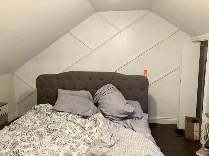 Bedroom Moulding Design Feature Wall in 2020 (With images