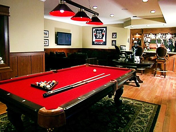 Man Caves   Pool Tables And Bars : Home Improvement : DIY Network, This Is  What Iu0027m Feeling