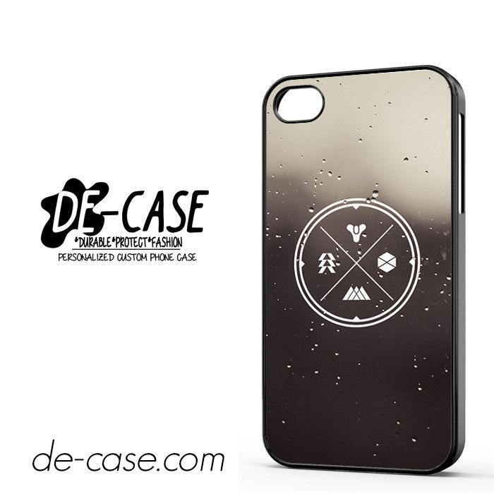 Destiny Symbols Deal 3211 Apple Phonecase Cover For Iphone 4