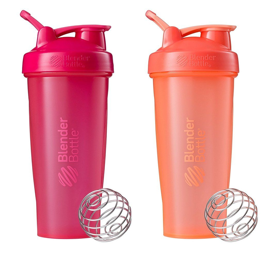 BlenderBottle Classic Loop Top Shaker Bottle, 28-Ounce 2-Pack #shake