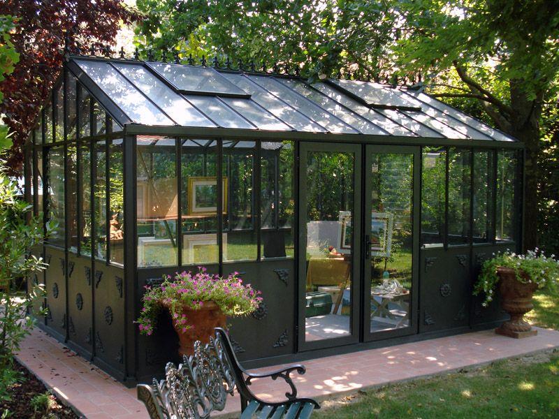 Serre de jardin en verre - Orangerie | Import Garden Belgique ...