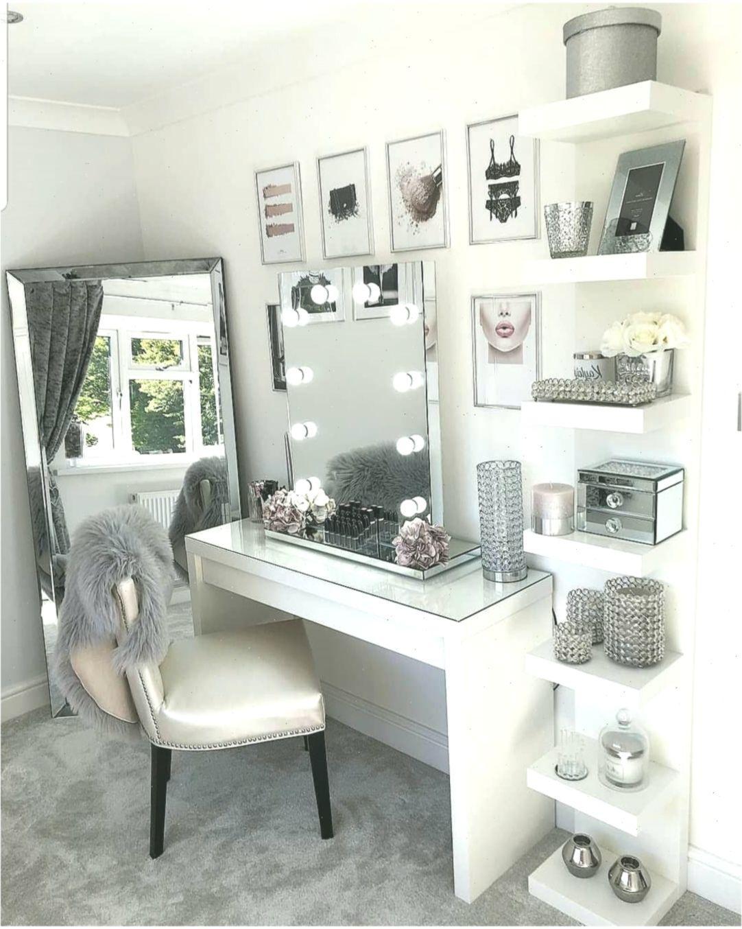 Photo of Glam beauty room vanity decor penteadeira #SchlafzimmerDekor #bedroomdecorglam
