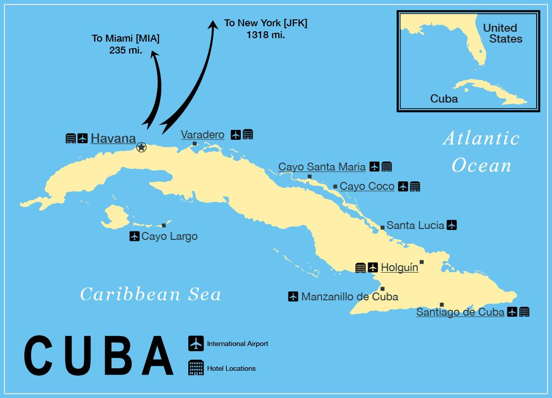 Cuba Map Cuba Pinterest - Map of cuba