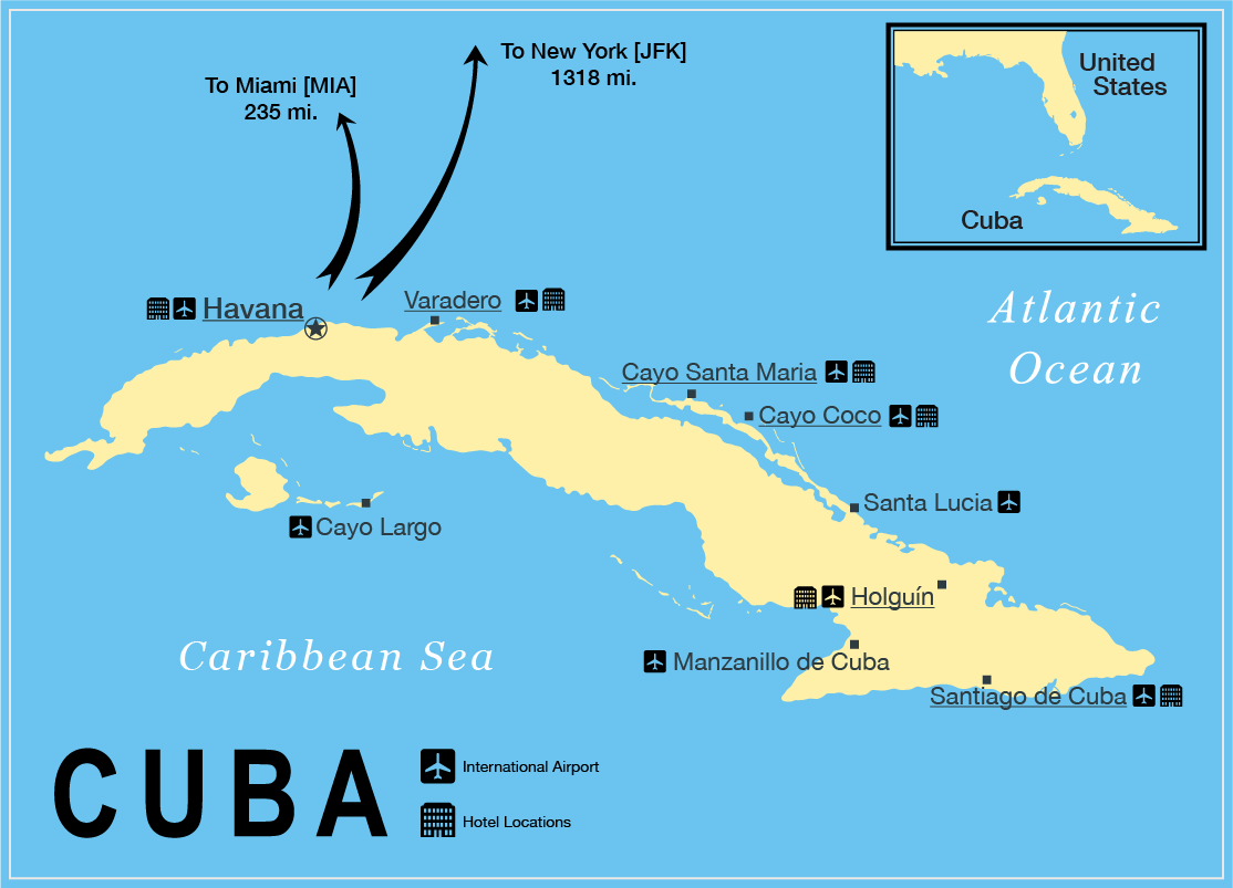 Cuba map Cuba Pinterest