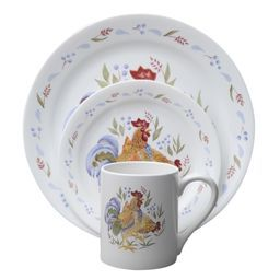 Corelle® Impressions™ Country Morning 16-Pc Dinnerware Set | dish ...