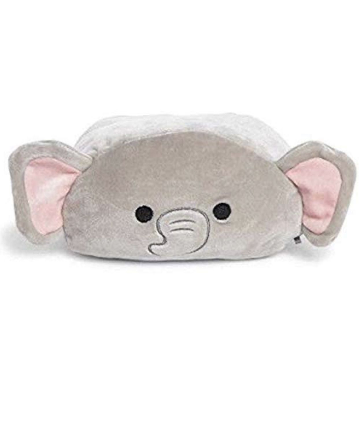 Squishmallow 8 Inch Mila The Stackable Grey Elephant Grey Elephant Soft Pillows Plush Pillows