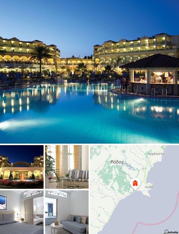 Lindos Princess Beach Hotel (Lardos, Griekenland)