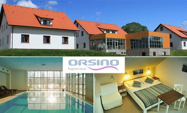 Hotel Orsino**** s neomezeným wellness pro dva na břehu Lipna / Horní Planá - Lipno