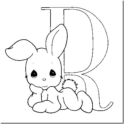 Precious moments alphabet coloring pages png 410x410