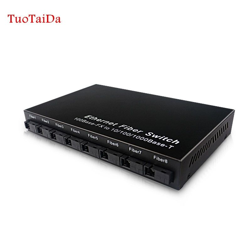 Ethernet Optical Fiber Switch 8 Port 100mbps Sc Fiber And 2 Port 1000mbps Rj45 Fiber Media Converter 20km Review Fiber Optic Optical Rj45