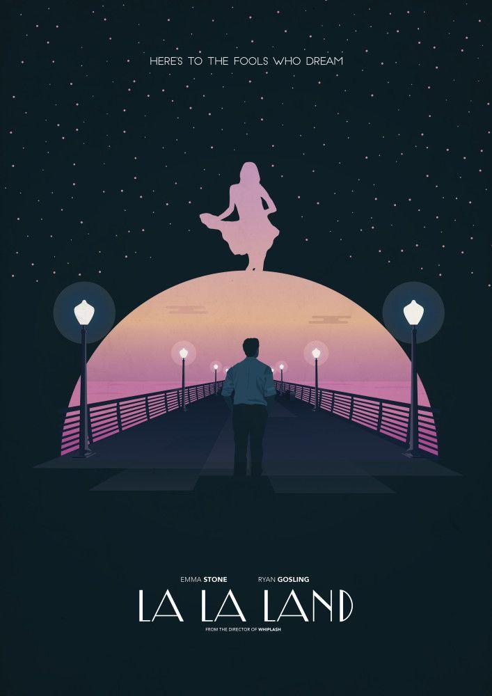 La La Land Alternate Poster Posters Pinterest Serie Film Et Affiches