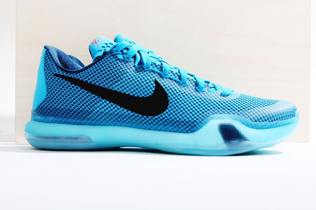 "huge discount dcb36 cfc1e Nike Kobe X ""Blue Lagoon"" (Preview)"