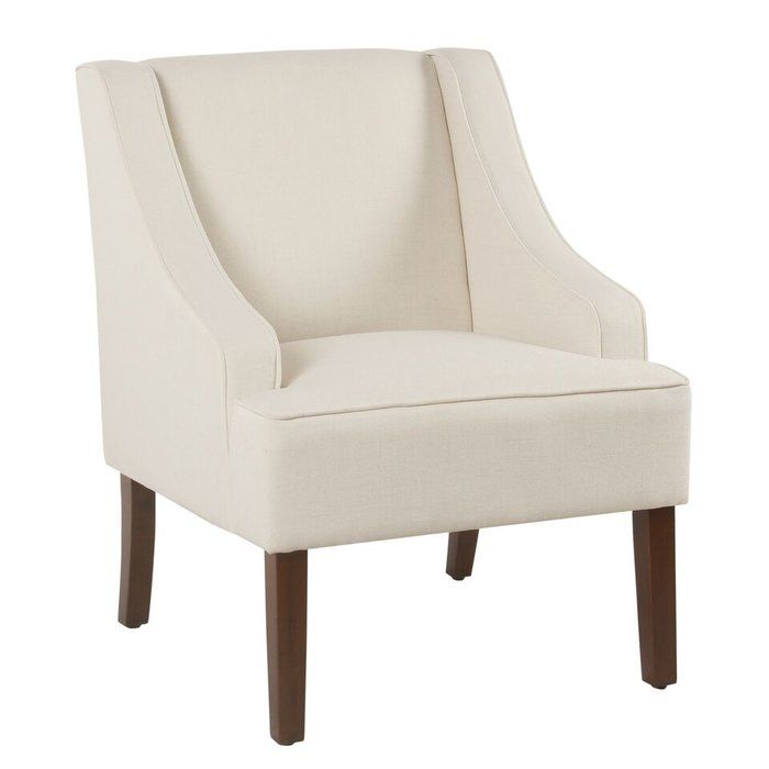 Lacombe Wingback Chair Upholstered Chairs Wooden Accent Chair Accent Chairs