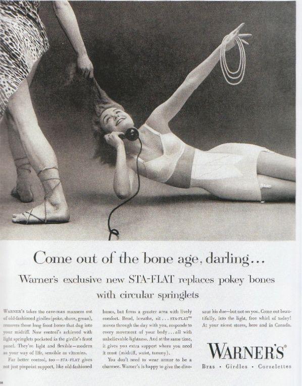 Warner's Lingerie Vintage Ad...