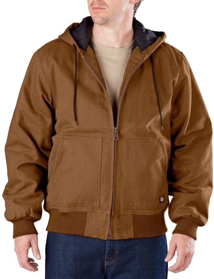 09b331c0db341b Men s Dickies Sanded Hooded Jacket