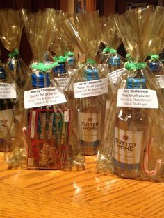 Christmas gifts for the school staff! And, all under $3.00 each ...