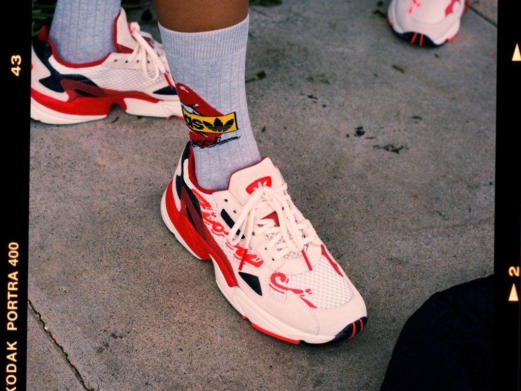 adidas 'fiorucci Falcon' Sneakers Damen Schuhe Sneaker